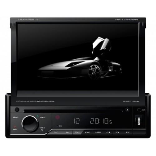 """Dvd Player Retratil 7"""" Napoli com Bluetooh - Entrada USB/Cartão SD com AM/FM/TV"""